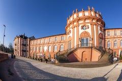 Berühmtes Biebrich-Schloss Lizenzfreies Stockbild