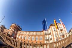Berühmtes Biebrich-Schloss Stockfotografie