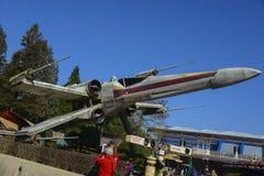 Berühmtes X-Flügelschiff von Star Wars-Film Lizenzfreies Stockfoto
