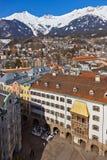 Berühmtes goldenes Dach - Innsbruck Österreich Lizenzfreies Stockbild