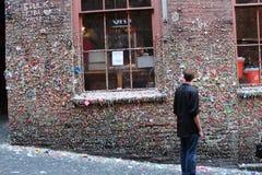 Berühmtes gumwall in Pike-Platz Stockbilder