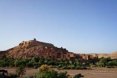 Berühmtes kasbah Aït Benhaddou, Aït-Ben-Haddou Lizenzfreie Stockfotografie