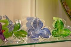 Berühmtes Murano-Glas in Venedig lizenzfreie stockfotos