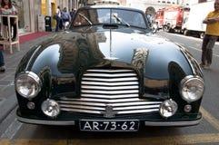 Berühmtes Rennretro- Autos Mille Miglia Stockbilder