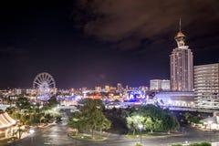 Berühmtes Spielerparadies Las Vegass in Wüste 4 lizenzfreies stockbild