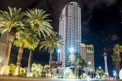 Berühmtes Spielerparadies Las Vegass in Wüste 6 stockfoto