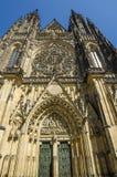 Berühmtes St. Vitus Cathedral in Prag, Tschechische Republik Lizenzfreies Stockfoto