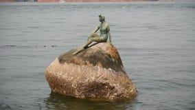 Berühmtes Stanley Park Statue stock video footage