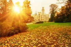 Berühmtes tschechisches Schloss Lizenzfreie Stockfotos