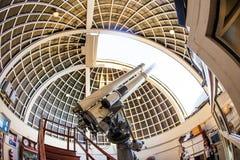 Berühmtes Zeiss-Teleskop an Stockfotos