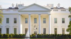 Berühmteste Adresse in den Vereinigten Staaten - das weiße haus- WASHINGTON DC - KOLUMBIEN - 7. April 2017 Lizenzfreies Stockbild