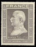 Berühmtheiten, 88. Jahrestag des Marschalls Petain Stockbild