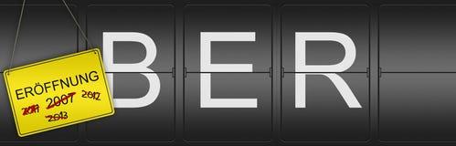 BER Ausser Opening Dates Royalty Free Stock Image