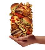 Über dem Essen Lizenzfreie Stockbilder