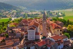 Istria - Beram arkivbild