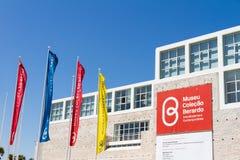 Berardo汇集博物馆是现代和contempo博物馆  免版税图库摄影