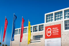 The Berardo Collection Museum in Lisbon Royalty Free Stock Photography
