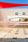 The Berardo Collection Museum in Lisbon Royalty Free Stock Images