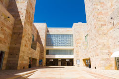The Berardo Collection Museum in Lisbon. Lisbon, Portugal - July 16, 2014: The berardo Collection Museum of modern art Royalty Free Stock Photo