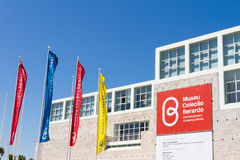 The Berardo Collection Museum is a museum of modern and contempo Royalty Free Stock Photography