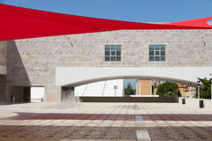 Berardo Inkasowy muzeum jest muzeum sztuka współczesna w Lisbon Zdjęcie Royalty Free