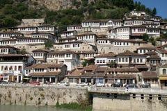Berat, Albânia foto de stock