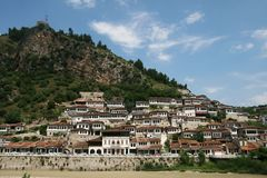 Berat,Albania Stock Photo