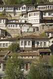 Berat albania architecture Royalty Free Stock Photography