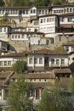 Berat albania architecture. Berat albania historic houses architecture travel Royalty Free Stock Photography