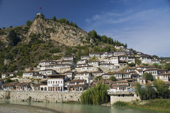 Berat albania architecture Royalty Free Stock Photos