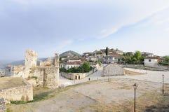 Berat Albania Europa di kala del castello Immagine Stock