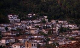 Berat Albania`s Ottoman Architecture with Multiple Windows