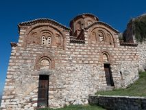 Exterior of Church of the Holy Trinity in Berati Fortress Albania