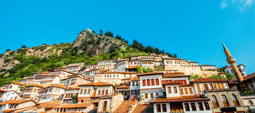 Berat city Stock Photography