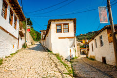 Berat city Royalty Free Stock Image