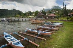 Beratan jezioro. Bali, Indonezja zdjęcia royalty free