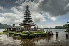 Beratan Lake. Bali, Indonesia Stock Photos