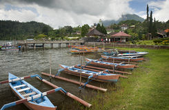 Beratan Lake. Bali, Indonesia Royalty Free Stock Photos