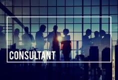Beratungskonzept Berater-Advisor Advise Consults lizenzfreies stockbild