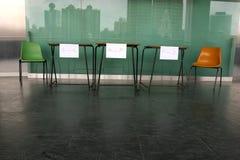 Beratungsstelle am Einschreibung-Zählwerk Lizenzfreies Stockbild