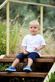 Berbeć chłopiec Obraz Royalty Free