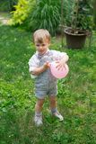 Berbeć chłopiec Zdjęcie Royalty Free