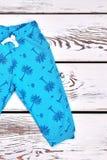 Berbeci dzieciaków mody projekta spodnia Zdjęcie Stock