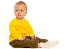 berbecia zadumany kolor żółty zdjęcia stock