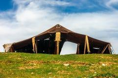 Berber buda w lesie Przy słonecznym dniem Fotografia Stock