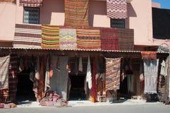 berber budynku dywany marokańscy Zdjęcia Royalty Free