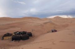 Berber camp Stock Photos