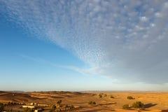 The berber camp in Sahara desert. Morocco Stock Photo