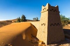The berber camp in Sahara desert Morocco Stock Image