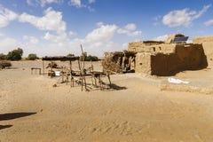 Berber da cabana no deserto de Sahara Imagens de Stock Royalty Free